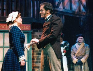 With Traci Lyn Thomas as Mrs. Cratchit