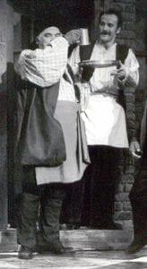With Michael Edwards, 'My Fair Lady,' Riverside Theatre, Vero Beach