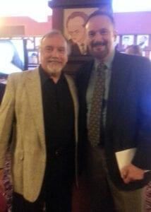 With George Lee Andrews at Sardi's